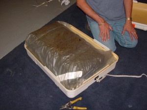 liferaft canister