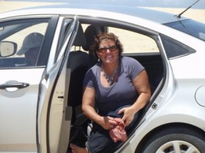 lisa in rental car com