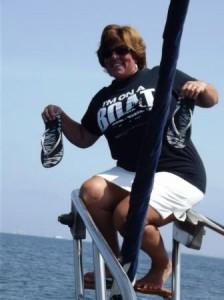 Lisa on boat com