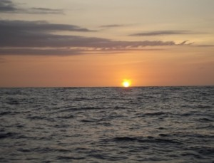 Todo Santos com sunset